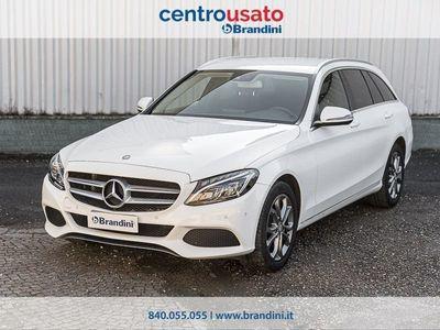 usata Mercedes 200 Classe C Classe C-S205 2014 SW C SWd (BT) Exclusive auto