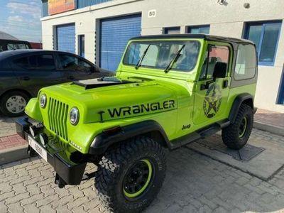 usata Jeep Wrangler 2.5 cat Soft top (EU) usato