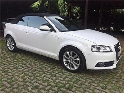 usata Audi A3 Cabriolet 2.0 TDI ,PELLE TOTALE,SENSORI..BELLA!!!