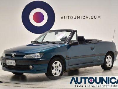 used Peugeot 306 Cabriolet Cabrio cat del 1997 usata a Brescia