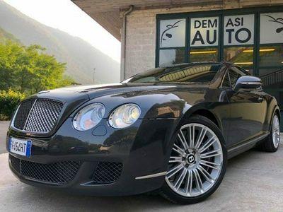 usata Bentley Continental GT Speed 6.0 W12 CARBOCERAMICI TAGLIANDI UFFICIALI