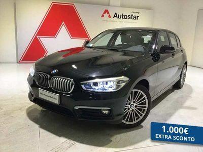 usata BMW 116 SERIE 1 (5 PORTE) d Urban 5p