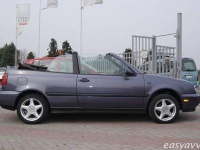 usata VW Golf Cabriolet 2.0 i automatico benzina cabrio viola