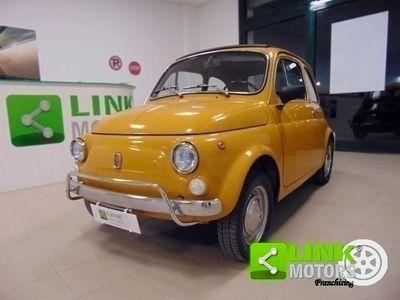 used Fiat 500L anno 1971, manutenzione curata, restaurata, perfetta