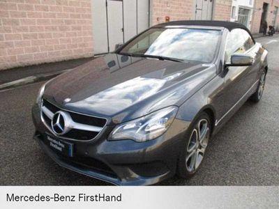 usado Mercedes E350 - Classe E Cabrio -BlueTEC Cabrio Automatic Sport