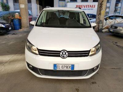 brugt VW Touran 1.6 tdci cambio dsg 7 posti tagliandi Vw