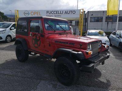 usata Jeep Wrangler 2.5 Laredo 4WD GPL