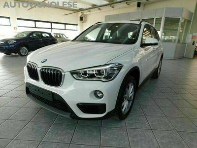 usata BMW X1 sDrive18d Business LED -NAVI-BAULE AUTOM