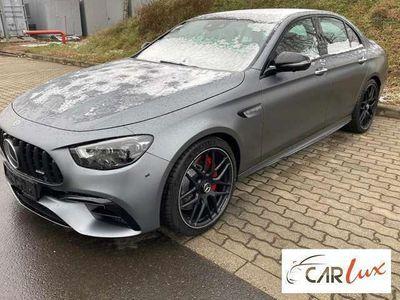 """usata Mercedes E63 AMG 4Matic+ S MATRIX TETTO 20"""" NAVI 3D 300 KM/H LIMIT"""