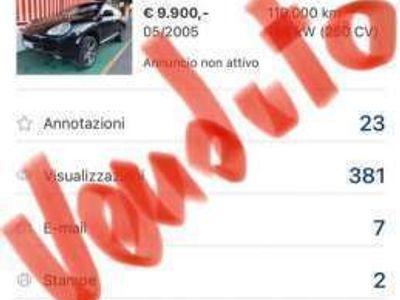 usata Porsche Cayenne Altro GPL