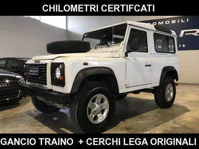 usado Land Rover Defender 90 2.5 Td5 Station Wagon SE S E + Gancio Traino