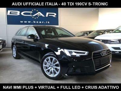 """usata Audi A4 Avant 40 TDI S tronic +Virtual+Navi+Full Led+""""17 S"""