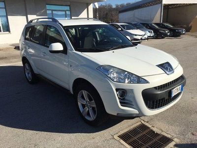 used Peugeot 4007 2.2 HDi 156CV Tecno Mix