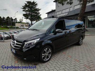 second-hand Mercedes V250 d automatic sport extralong 58.000km diesel