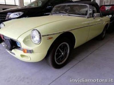 usata MG B roadster targhe nere+overdrive benzina