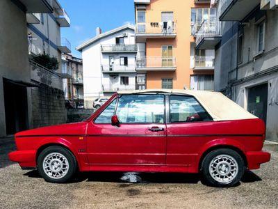 usata VW Golf Cabriolet 1600 cat 3 porte karmann