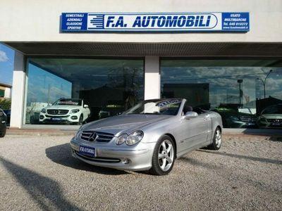 usata Mercedes CLK200 Kompressor TPS Cabrio Elegance Automatica