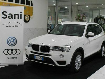 usata BMW X3 xDrive20d Unico Proprietario