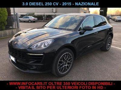 usata Porsche Macan 3.0 S Diesel 250 CV NAZIONALE