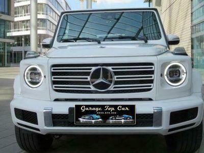 usata Mercedes G350 AMG / pelle beige / fotocamera