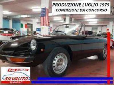 usata Alfa Romeo GT Junior spider 1300coda tronca tipo 105.91 benzina