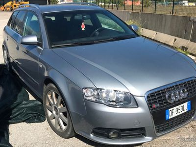 usata Audi A4 2.0 tdi 170 cv S-LINE motore fuso banco