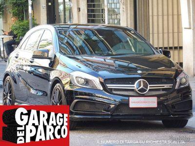 usata Mercedes A45 AMG 4Matic AUTOMATICA NAVI PELLE PDC XENO TAGLIANDI
