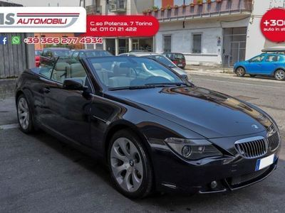 usata BMW 650 Cabriolet i Pelle Automatica Navi Unicoproprietario