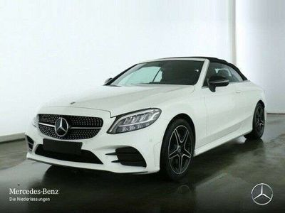 usata Mercedes C200 EQ-Boost Cabrio Premium AMG / RESTYLING*NIGHT*LED