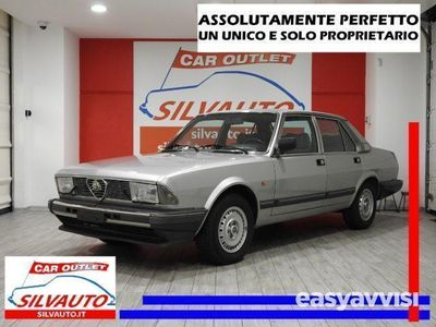 usado Alfa Romeo Alfa 6 alfetta2.5 iniezione quadrifoglio oro 158cv benzina