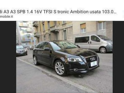 usata Audi A3 SPB 1.4 16V TFSI S tronic Ambition