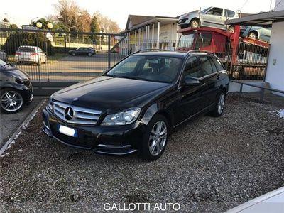usata Mercedes C200 CLASSE CCDI S.W. BlueEFFICIENCY Avantgarde