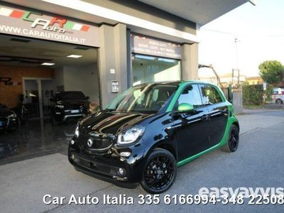 begagnad Smart ForFour Electric Drive prime panorama navi tel led elettrica