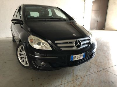 used Mercedes B200 2008 automatica diesel pelle tetto