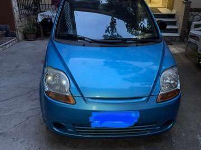 usata Chevrolet Matiz interni blu