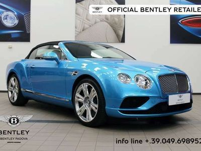 usata Bentley Continental GT W12 Convertible