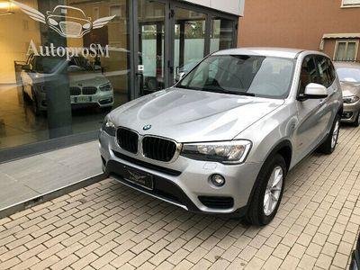 usata BMW X3 xDrive20d Business aut.UNICO PROPRIETARIO