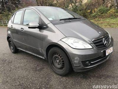 usata Mercedes A160 blueefficiency executive benzina 4/5-porte manuale grigio scuro