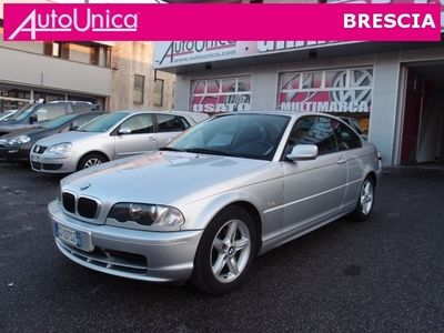 usata BMW 318 CI COUPE' CLIMA RADIO CD MANUALE 5M OTTIME CONDIZ