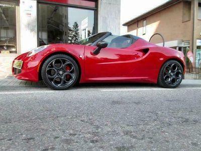 usata Alfa Romeo 4C Spider tagliandi, carbon pack, distriuzione fatta