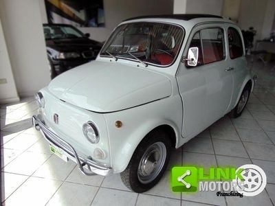 usata Fiat 500L anno 1972, completamente restaurata da abili mani, documenti originali, perfetta