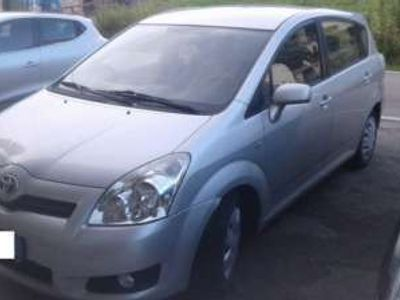 usata Toyota Corolla Verso 2.2 16V D-4D 7pti UNICOPROPRIETARIO 7 POSTI rif. 9968372
