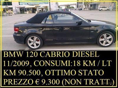 usata BMW 120 Cabriolet D 11/2009