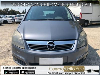 used Opel Zafira 1.9 16V garanzia 12 mesi