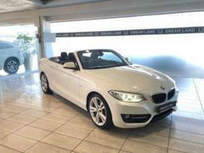 usata BMW 220 d cabrio sport automatica