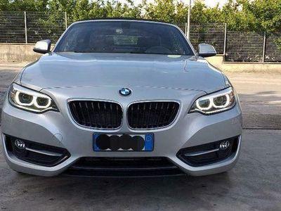 usata BMW 218 Serie 2 d Cabrio Sport