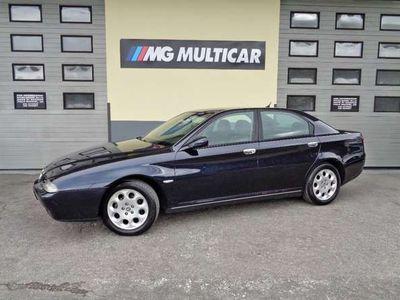 usata Alfa Romeo 166 2.4 JTD cat. km 141.000. unicoproprietario.