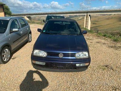 usata VW Golf Cabriolet Golf Cabriolet 1.8/90 CV cat Avantgarde