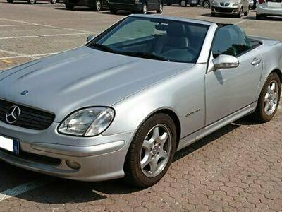 usata Mercedes SLK200 Kompressor anno 2001
