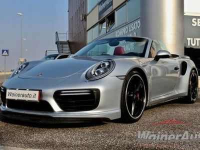 usata Porsche 911 3.8 Turbo Cabriolet RESTYLING SOSPENSIONI SPORT